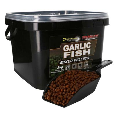Pellets starbaits pc garlic fish pellets mixed 2kg - Amorçages | Pacific Pêche
