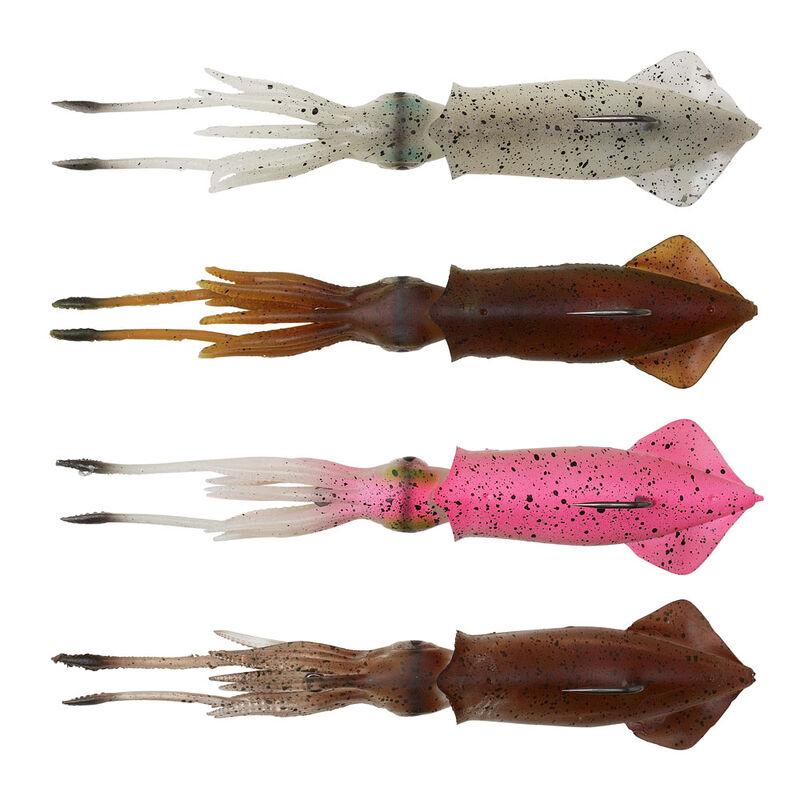 Leurre calamar 3d swim squid savage gear 12.5cm 25g (2 pièces par pochette) - Leurres octopus   Pacific Pêche