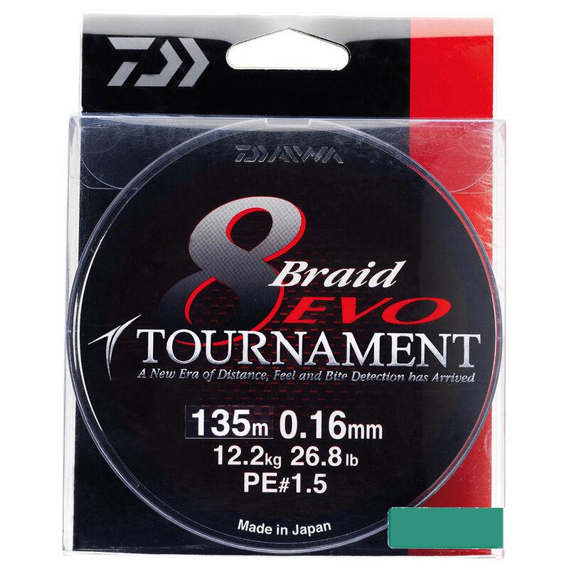 Tresse daiwa tournament 8 braid evo multicolor 300m - Tresses | Pacific Pêche