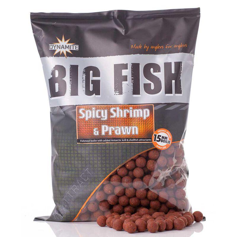 Bouillettes dynamite baits spicy shrimp  big fish 1.8kg - Denses   Pacific Pêche