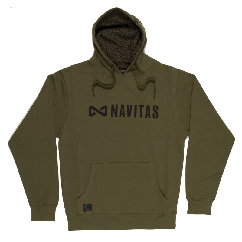 Sweat-shirt à capuche navitas core hoody green (vert) - Sweats | Pacific Pêche