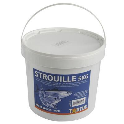 Seau de strouille (broumé préparé) 5kg tortue - Amorce | Pacific Pêche