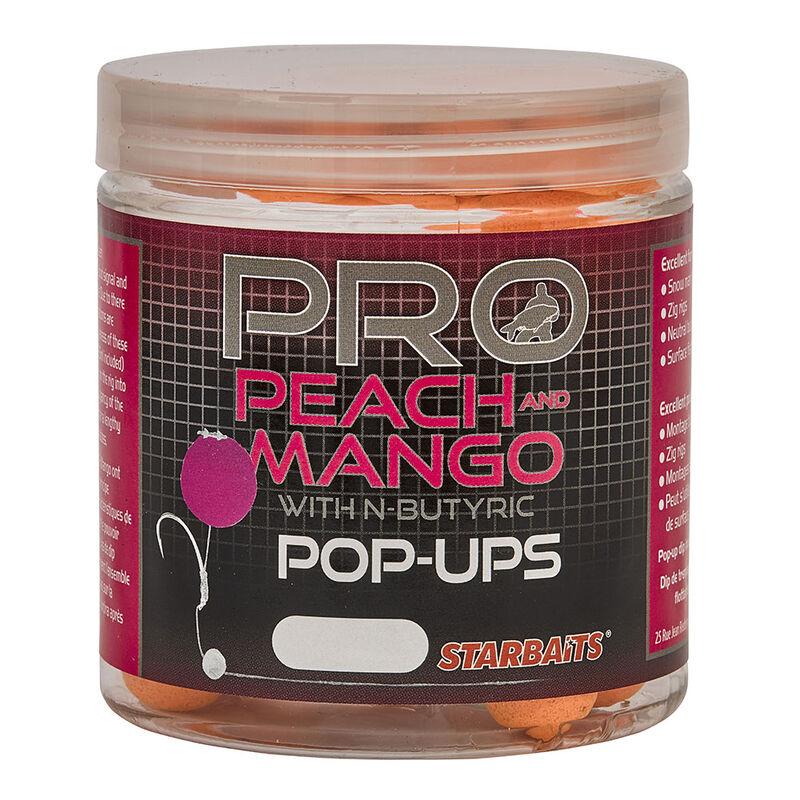 Bouillettes flottantes carpe probiotic probio peach / mango pop ups 60 gr - Flottantes | Pacific Pêche
