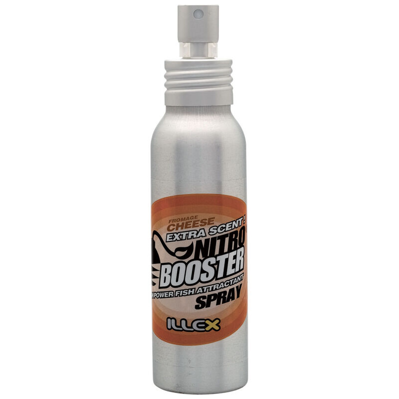 Attractrant pour leurres souples carnassier illex nitro booster cheese spray 75ml - Attractants | Pacific Pêche