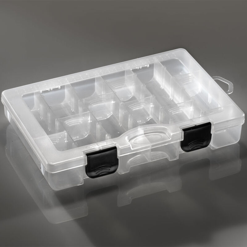 Boîte à leurres carnassier plastilys compartimentée 27x17x4,3cm - Boîtes   Pacific Pêche