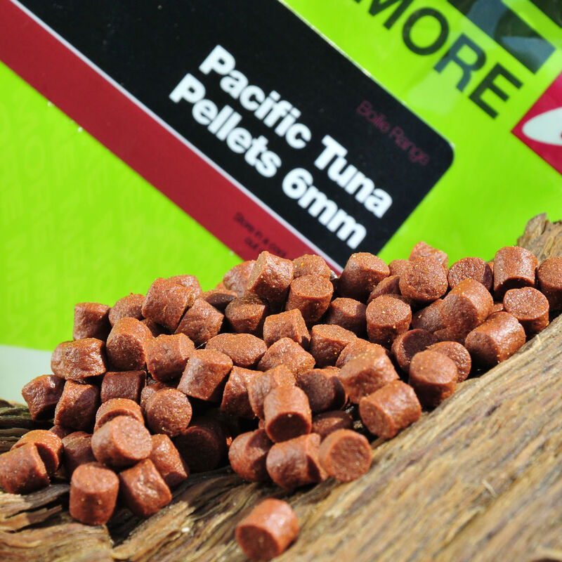 Pellets d'amorçages carpe cc moore pacific tuna 6mm - Amorçages | Pacific Pêche