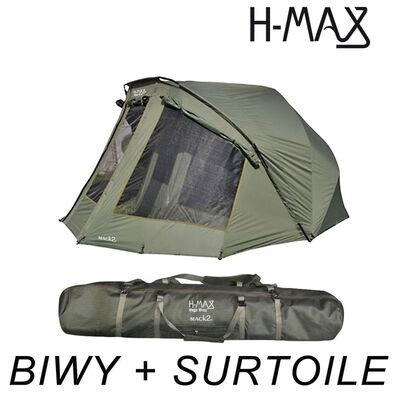 Pack biwy mack2 h-max avec surtoile - Packs | Pacific Pêche