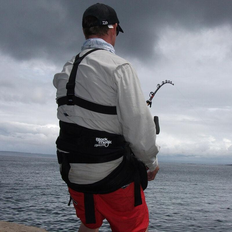 Baudrier + harnais stand up black magic plaque standard (44cm) harnais standard (68 cm) - Harnais/Baudrier | Pacific Pêche