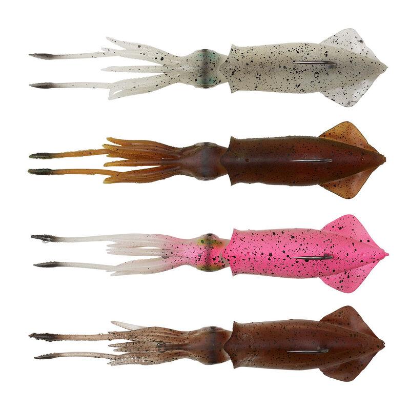 Leurre calamar 3d swim squid savage gear 18cm 50g - Leurres octopus   Pacific Pêche