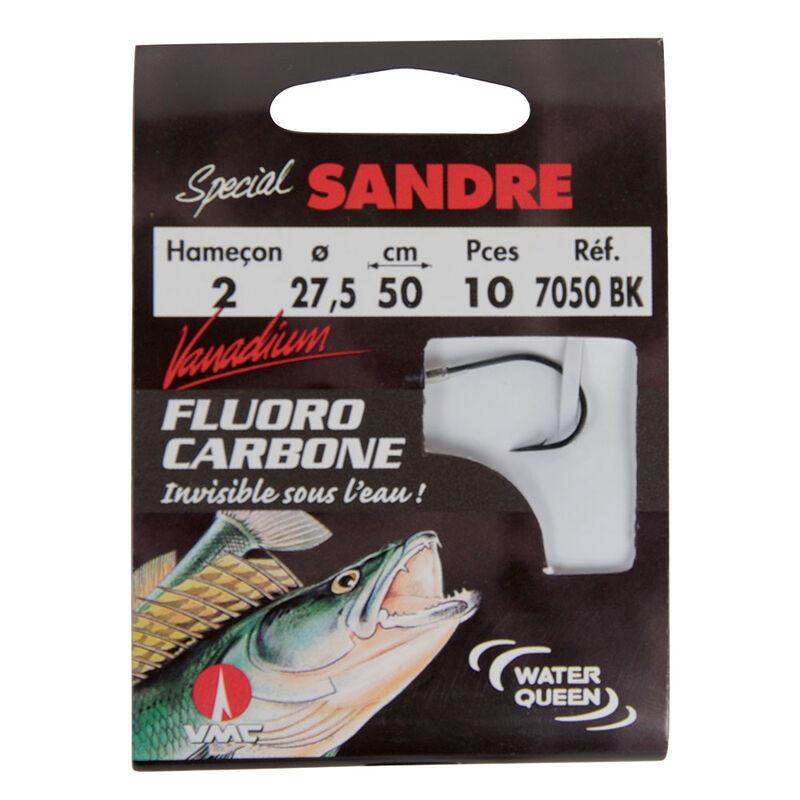 Hameçons montés carnassier waterqueen spécial sandre 7050 bk (x10) - Hameçons montés | Pacific Pêche
