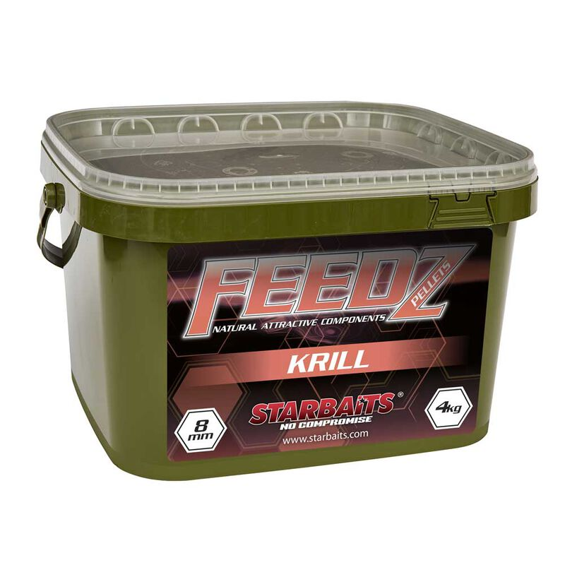 Pellets starbaits feedz krill pellets 8mm - Amorçages | Pacific Pêche