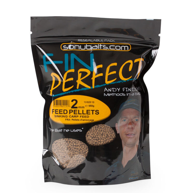 Pellets sonubaits fin perfect feed pellets 650g - Amorçage | Pacific Pêche