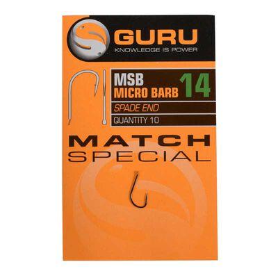 Hameçons guru match special barbed hook - Hameçons   Pacific Pêche