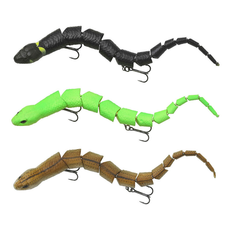Leurre dur surface carnassier savage gear 3d snake 30cm 57g - Surface | Pacific Pêche
