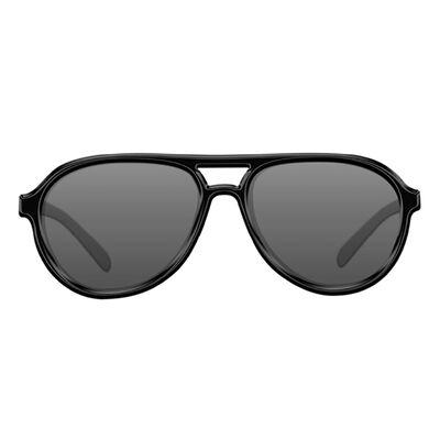 Lunettes polarisantes korda sunglasses aviator mat black frame / grey lens - Lunettes | Pacific Pêche