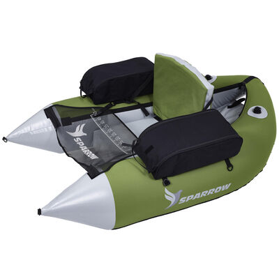 Float tube sparrow trium sage-gris - Floats Tube | Pacific Pêche