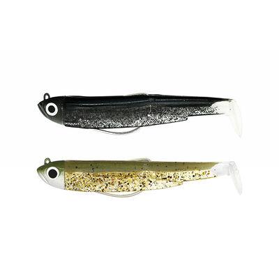 Leurre souple fiiish combo black minnow 70 shore 7cm 3g - Leurres souples | Pacific Pêche