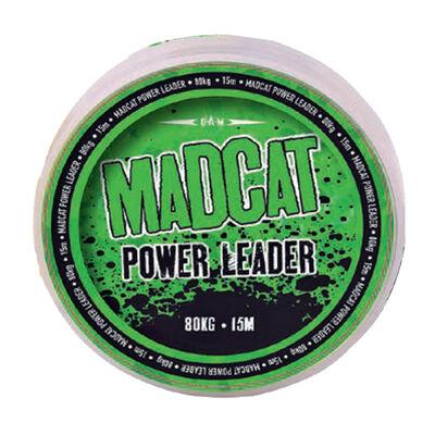 Tresse à bas de ligne silure madcat power leader 15m - Têtes de ligne / Leaders | Pacific Pêche
