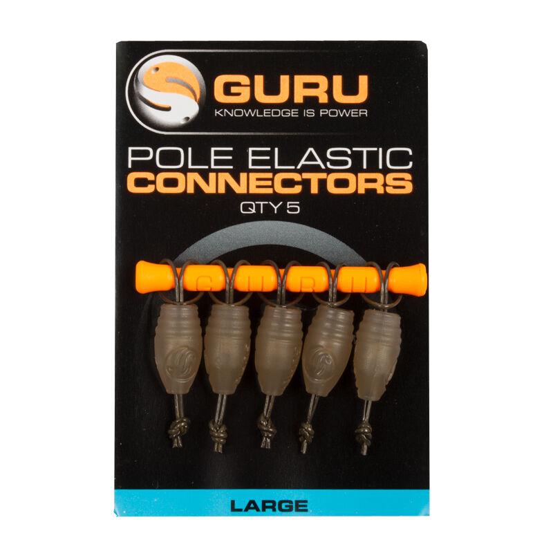 Connecteurs pour élastique coup guru elastic connectors (x5) - Fixes Ligne | Pacific Pêche