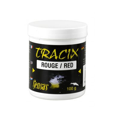 Additif spécial amorces sensas tracix rouge 100g - Additifs | Pacific Pêche