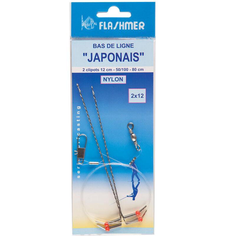 Bas de ligne mer flashmer japonais - Bas de Lignes / Lignes Montées | Pacific Pêche