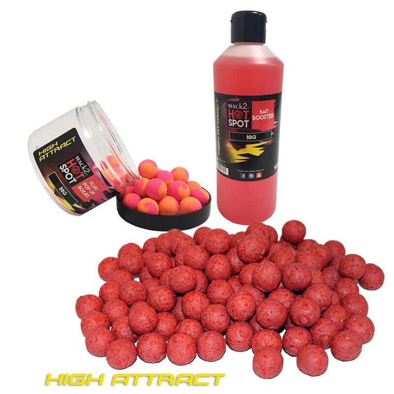 Pack week end mack2 high attract bbq  5kg + booster + popup - Packs   Pacific Pêche