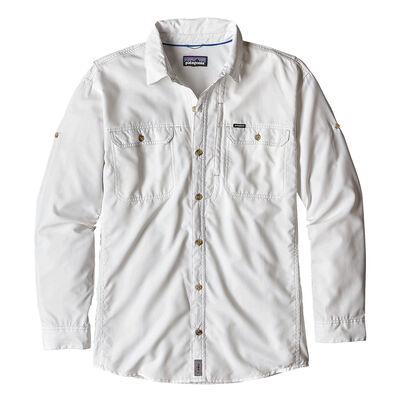 Chemise patagonia long sleeve sol patrol 2 white (blanc) - Chemises | Pacific Pêche