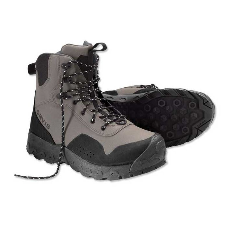 Chaussures de wading orvis clearwater semelles rubber - Chaussures | Pacific Pêche