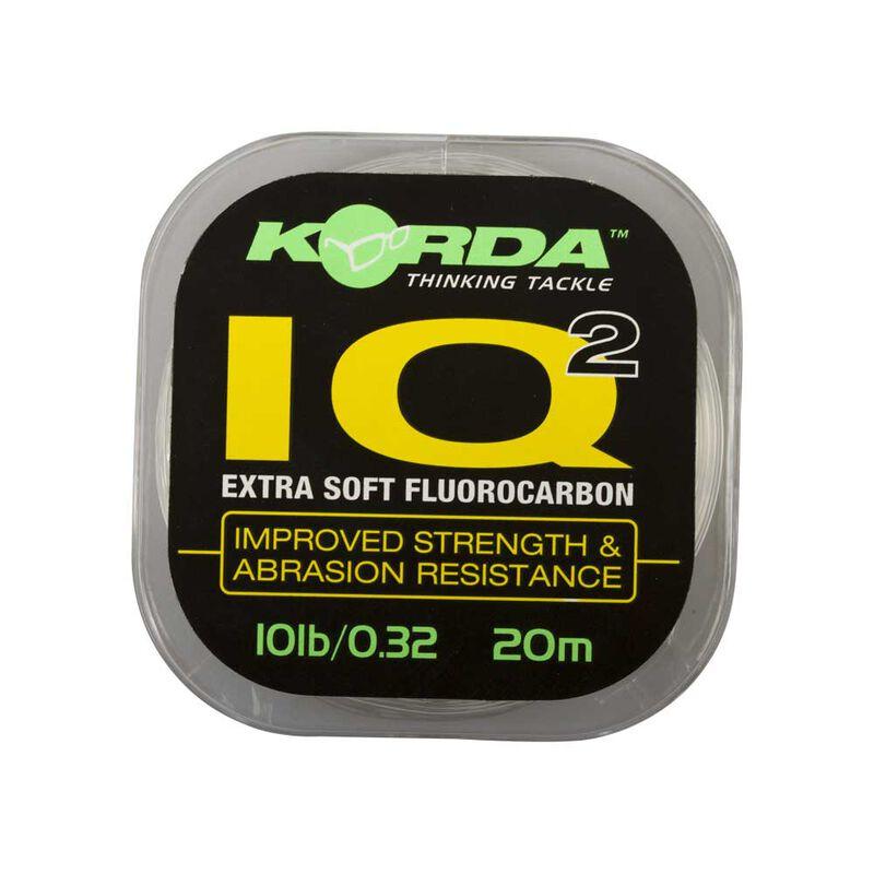 Fluorocarbone à bas de ligne carpe korda iq extra soft 20m - Fluorocarbone BDL | Pacific Pêche