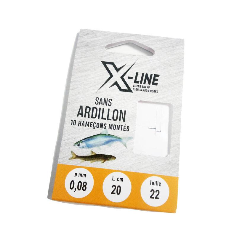 Hameçons montés coup x line sans ardillon (x10) - Hameçons Montés | Pacific Pêche