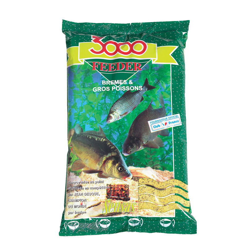 Amorce sensas 3000 feeder bremes 1kg - Amorces | Pacific Pêche