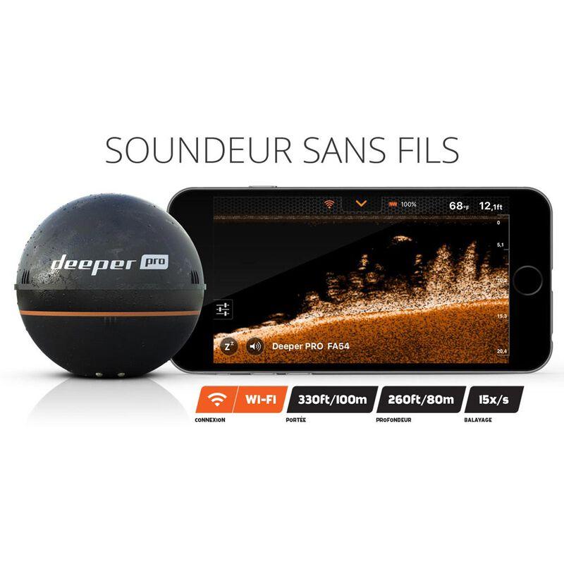 Pack deeper pro + couvercle jaune + fixation smartphone - Sondeurs | Pacific Pêche