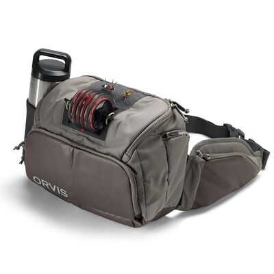 Sac orvis guide hip pack sable - Sacs | Pacific Pêche