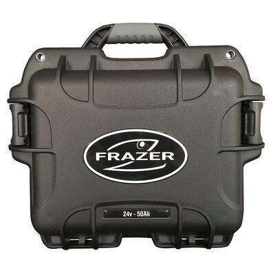 Batterie lithium frazer - valise lithium pro life p04 24v 50ah + chargeur - Batteries | Pacific Pêche