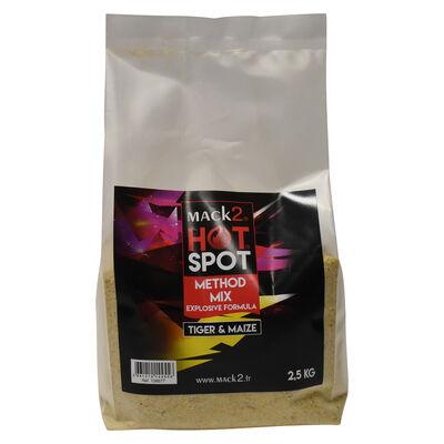 Method mix carpe mack2 hot spot tiger and maize 2.5kg - Methods Mix | Pacific Pêche