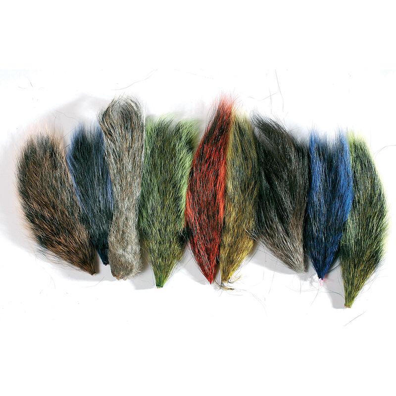 Fly tying poils morceau queue d'ecureuil jmc - Poils   Pacific Pêche