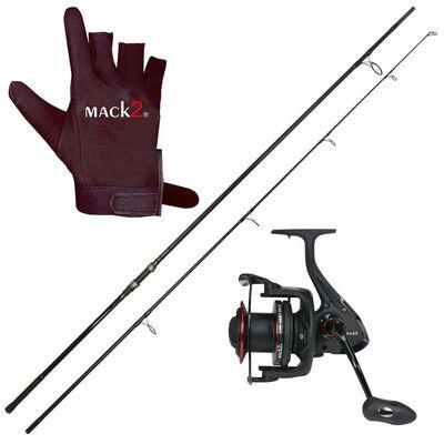 Pack spod carp addict mack2 (canne + moulinet + gant) - Packs | Pacific Pêche
