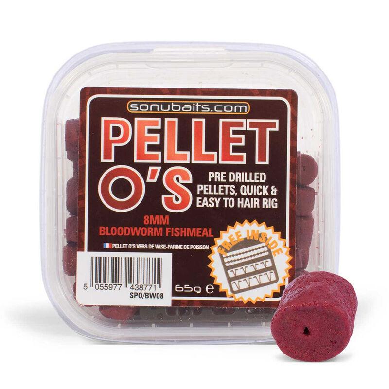 Pellets pour hameçons pré percés sonubaits o's 8mm - Eschage | Pacific Pêche