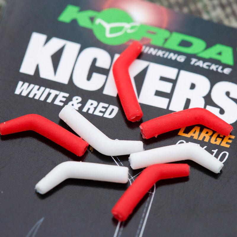 Aligneur de ligne carpe korda kickers rouge/blanc (x10) - Aligneurs de ligne | Pacific Pêche
