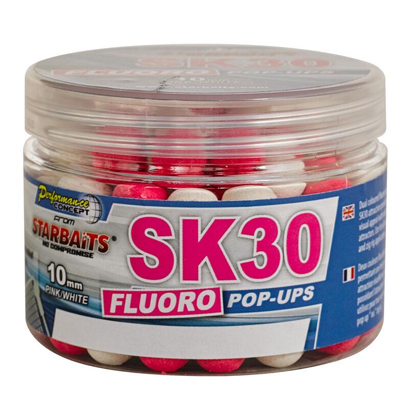 Bouillettes flottantes carpe performance concept sk30 fluo popup - Flottantes | Pacific Pêche