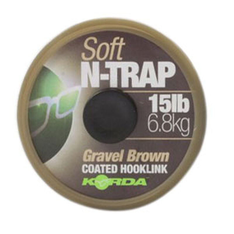 Tresse à bas de ligne carpe korda n-trap soft gravel - Tresse BDL | Pacific Pêche