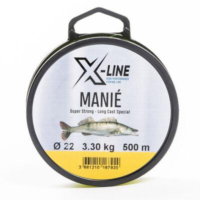 Nylon carnassier x-line manié 500m - Monofilaments | Pacific Pêche