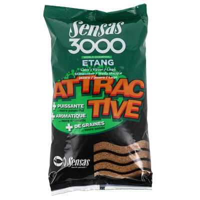 Amorce coup sensas 3000 attractive etang 1kg - Amorces | Pacific Pêche