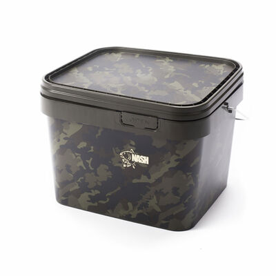 Seau carpe nash rectangular bucket 5l - Seaux | Pacific Pêche