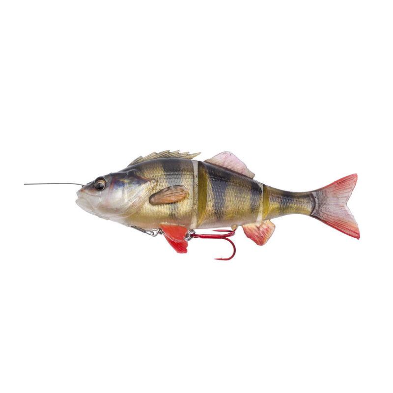 Leurre souple swimbait carnassier savage gear 4d line thru perch slow sink 17cm 63g - Leurres swimbaits   Pacific Pêche