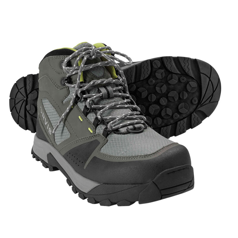 Chaussures de wading orvis ultralight boot (ash/citron) - Chaussures | Pacific Pêche