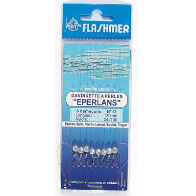 Bas de ligne mer flashmer dandinette a perles eperlans - Bas de Lignes / Lignes Montées | Pacific Pêche