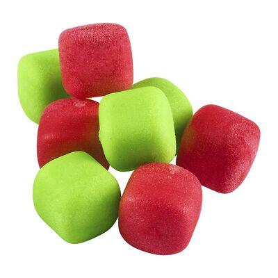 Imitation d'appât rok zig cube mix popup rouge-verte - ZIG | Pacific Pêche