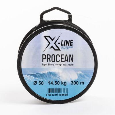 Fil en nylon pour la pêche en mer x-line procean 300m - Nylons | Pacific Pêche