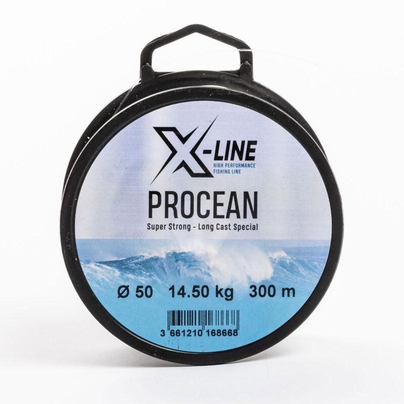 Fil en nylon pour la pêche en mer x-line procean 300m - Monofilaments | Pacific Pêche
